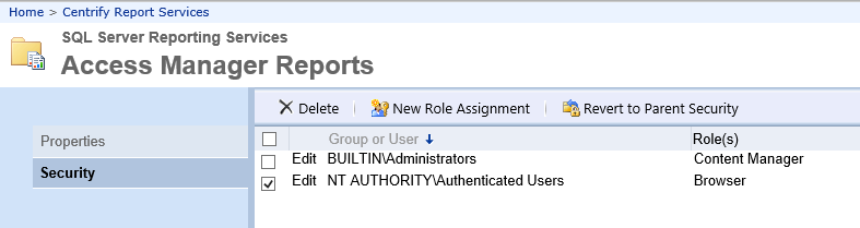 Creating the Report Subscription for CSV Export